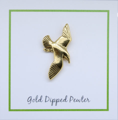 Seagull Gold Lapel Pin