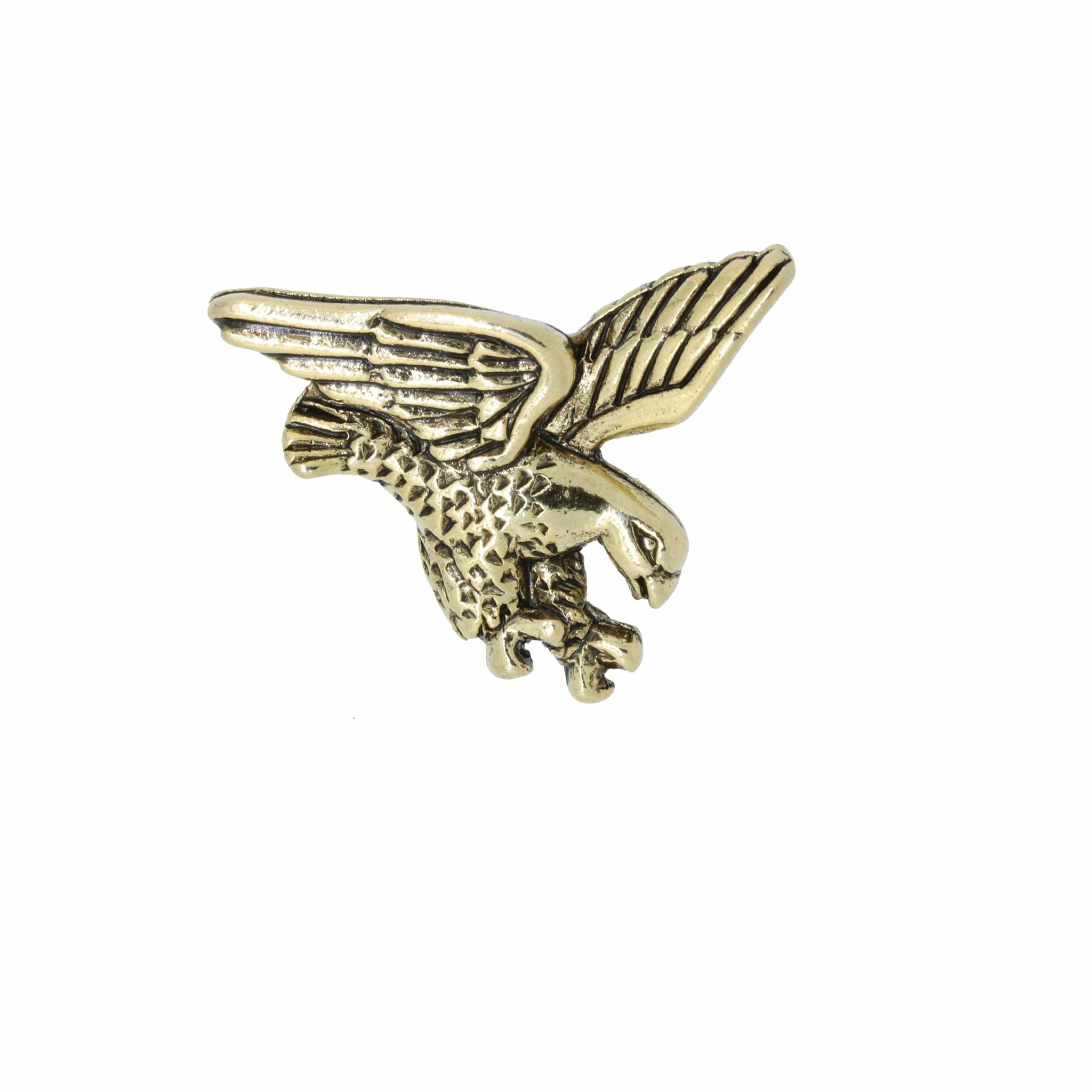 Falcon Gold Lapel Pin