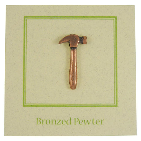 Hammer Copper Lapel Pin