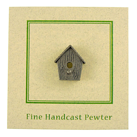 Wren House Lapel Pin