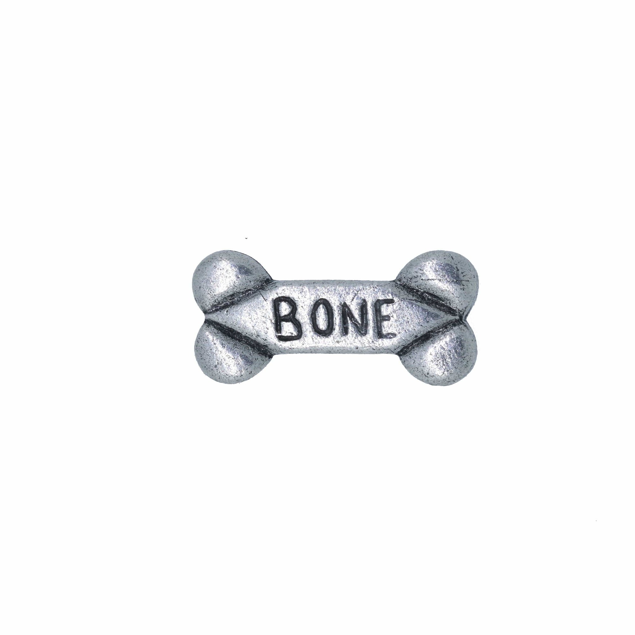 Dog Bone Lapel Pin
