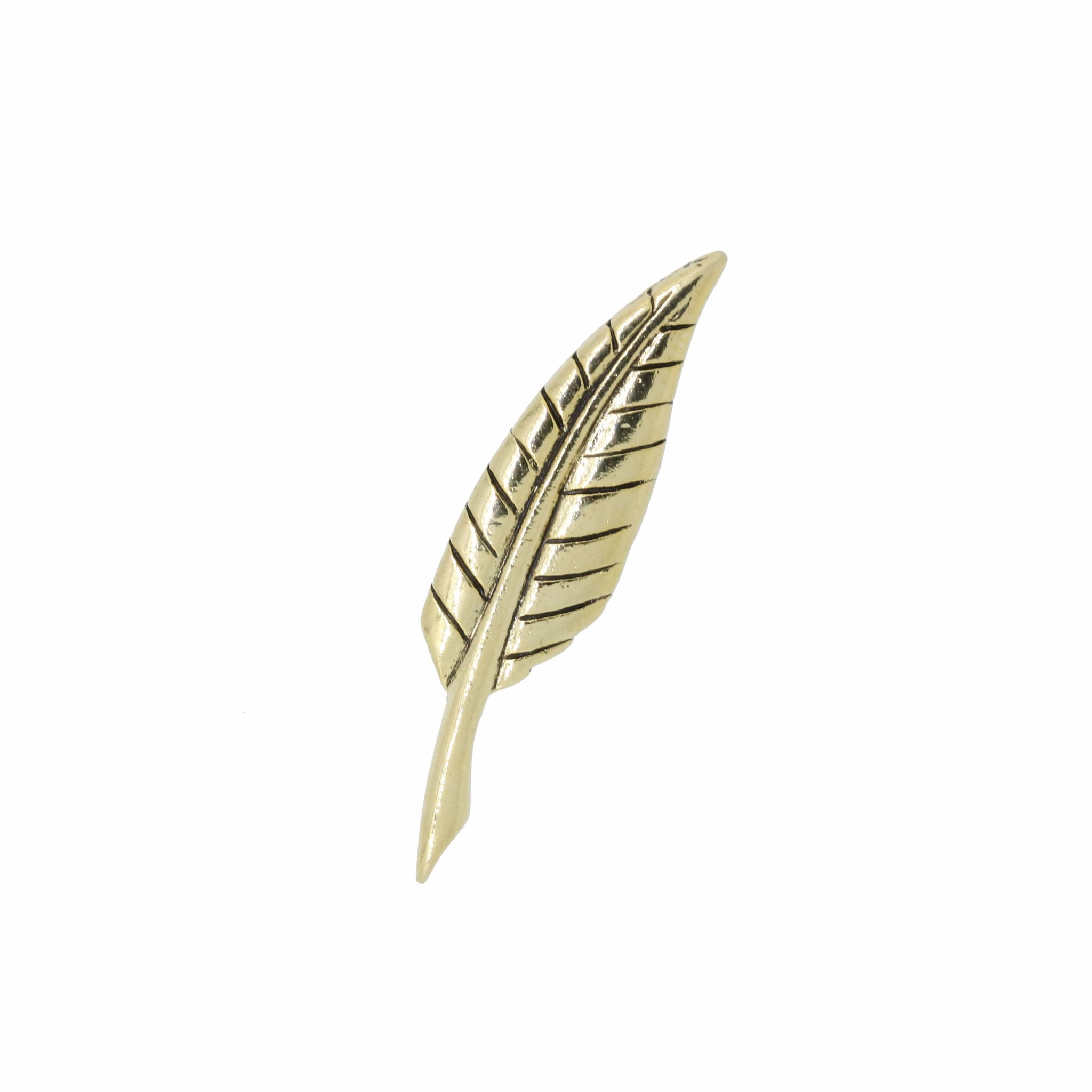 Quill Gold Lapel Pin