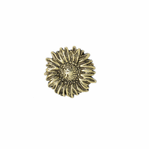 Sunflower Gold Lapel Pin