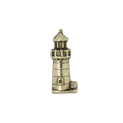 Lighthouse Gold Lapel Pin