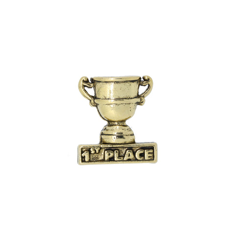 1st Place Trophy Gold Lapel Pin
