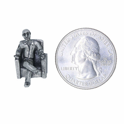 Guy in Chair Lapel Pin