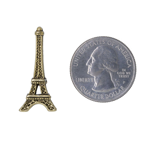 Eiffel Tower Gold Lapel Pin