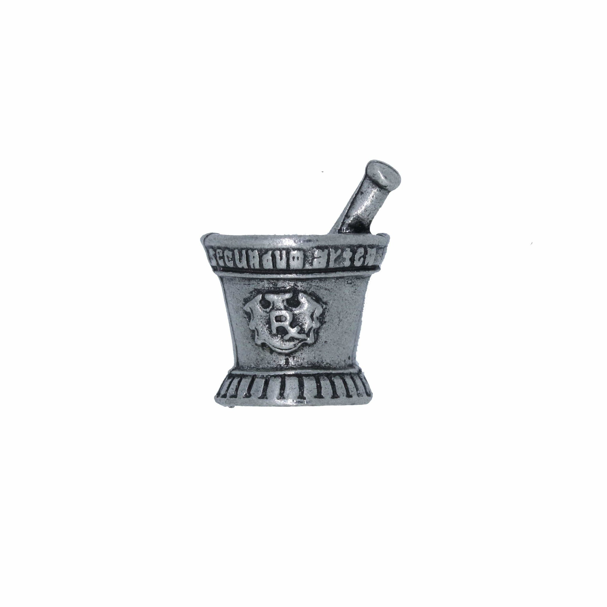 Mortar and Pestle Lapel Pin