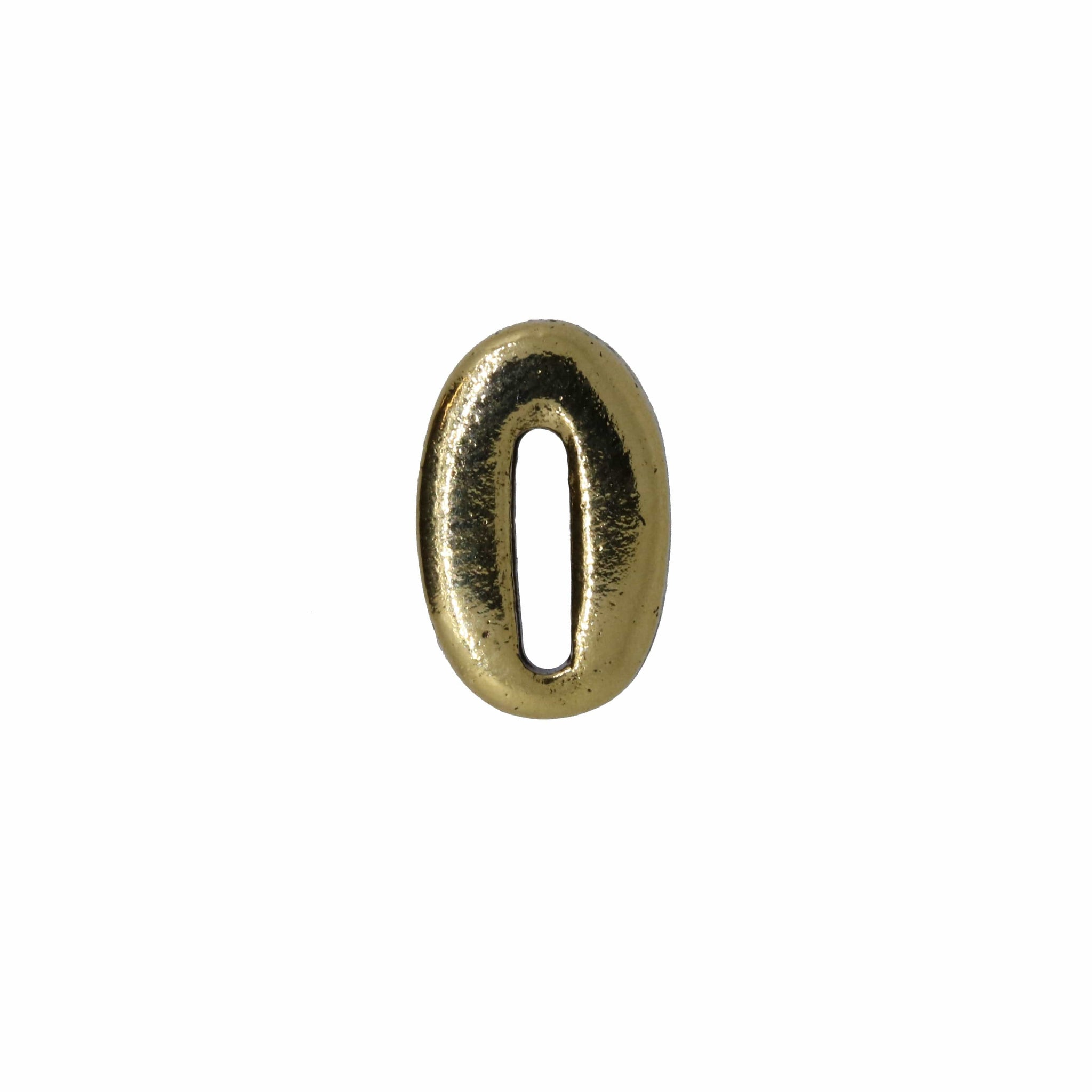 Number Gold Lapel Pins
