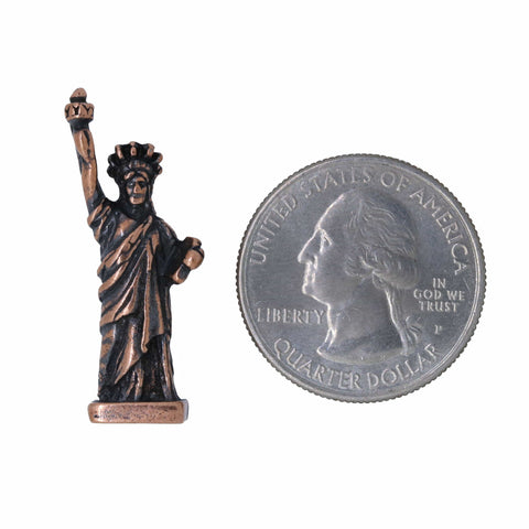Statue of Liberty Copper Lapel Pin