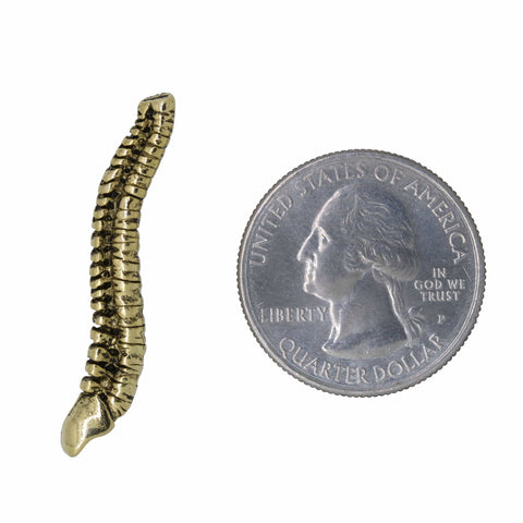 Spine Gold Lapel Pin