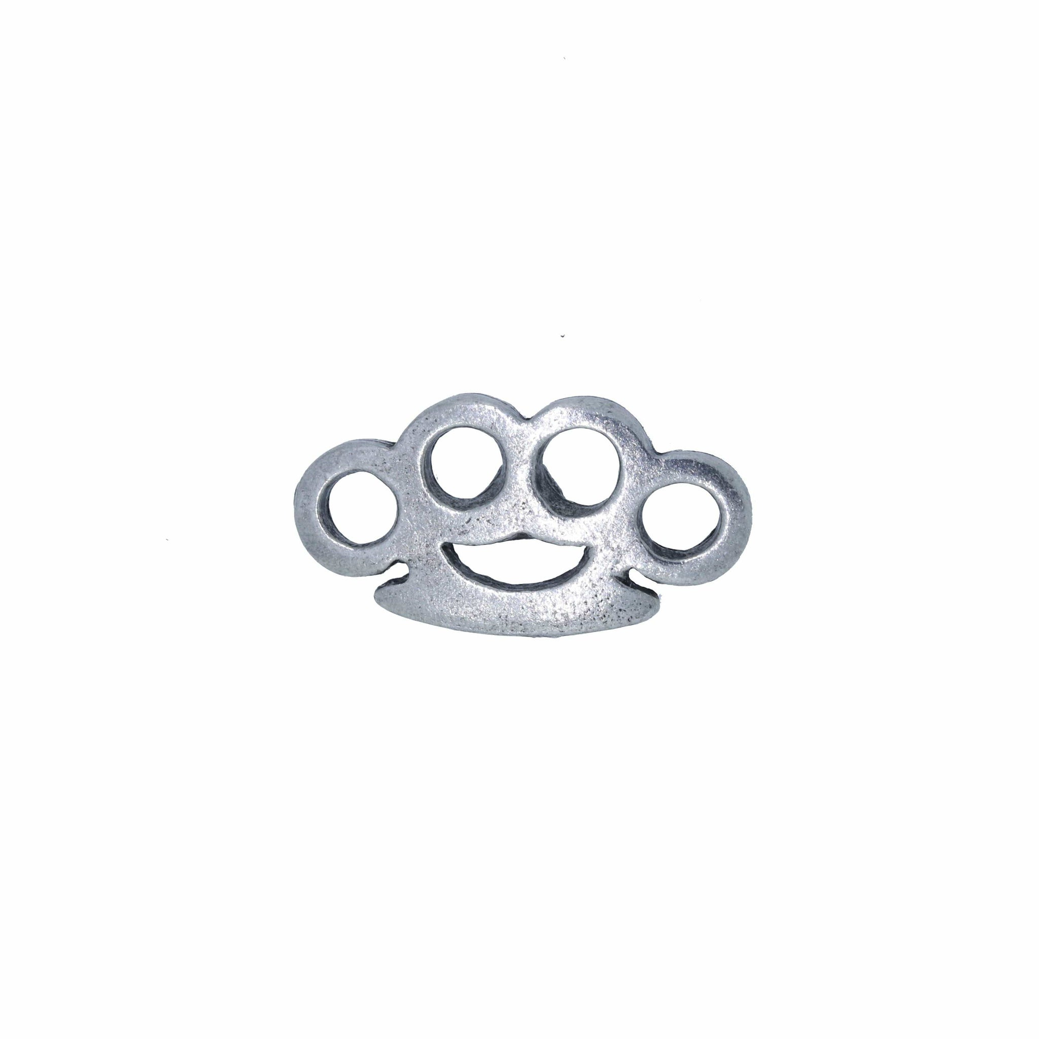 Brass Knuckles Lapel Pin