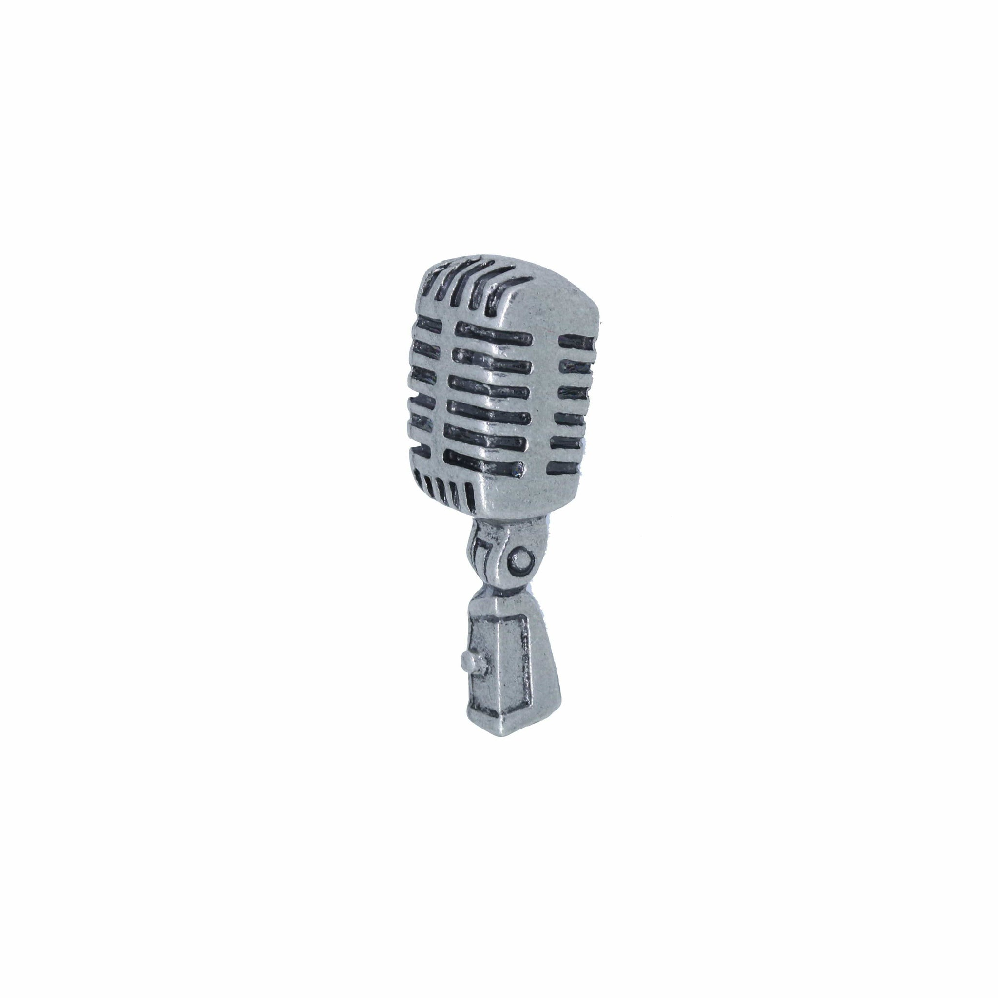 Microphone Lapel Pin