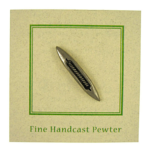 Weavers' Shuttle Lapel Pin