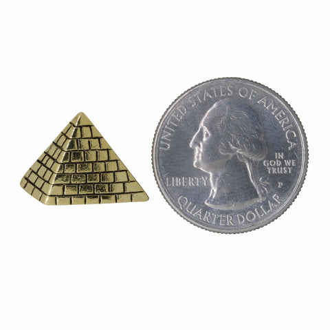 Pyramid Gold Lapel Pin