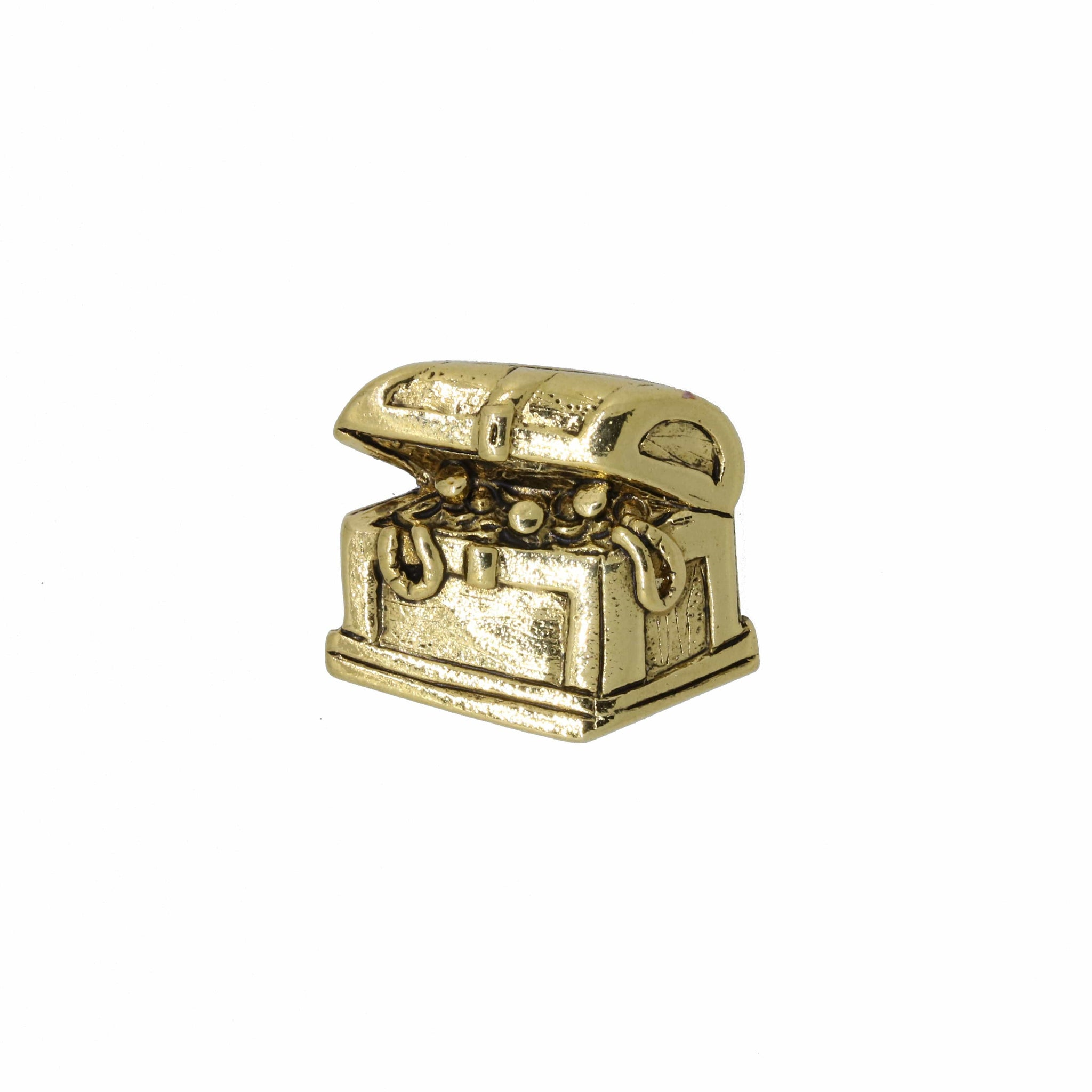 Treasure Chest Gold Lapel Pin