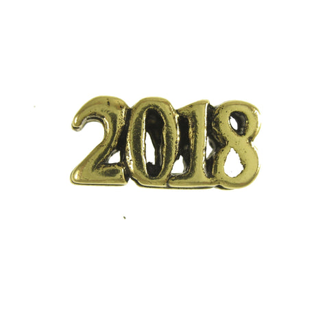 2018 Gold Lapel Pin