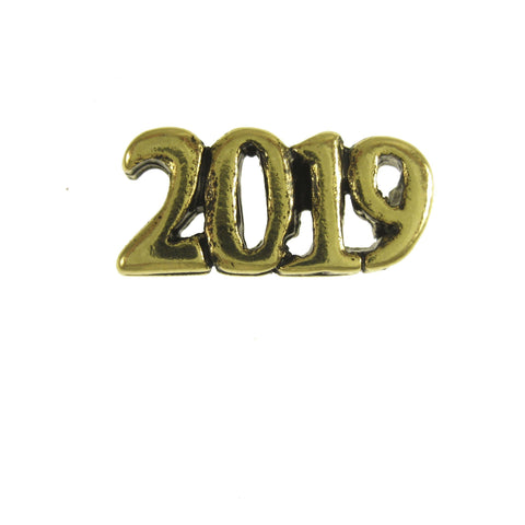 2019 Gold Lapel Pin