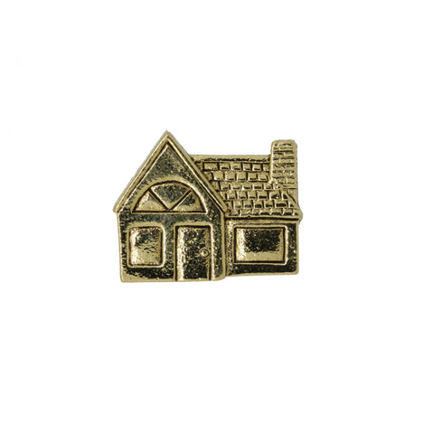 House Gold Lapel Pin