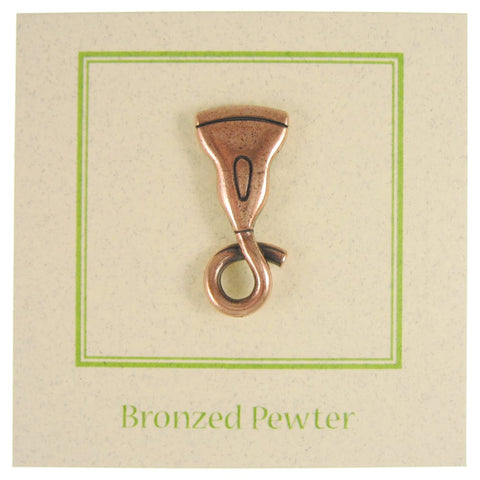 Ultrasound Wand Copper Lapel Pin