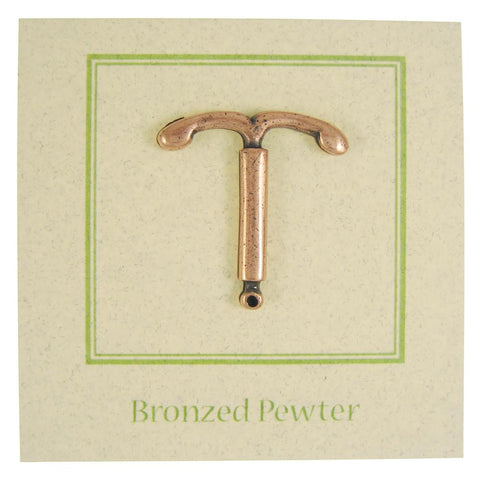 IUD Copper Lapel Pin
