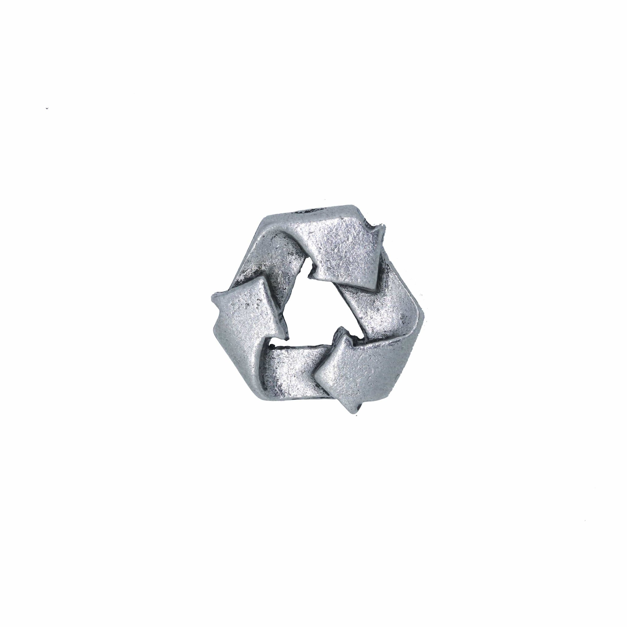 Recycle Symbol Lapel Pin