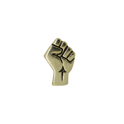 Civil Rights Gold Lapel Pin