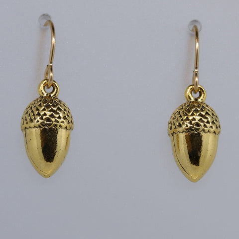 Acorn Charmed Earrings