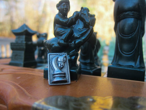 Chess Knight Lapel Pin
