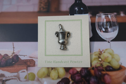 Chilled Wine Lapel Pin