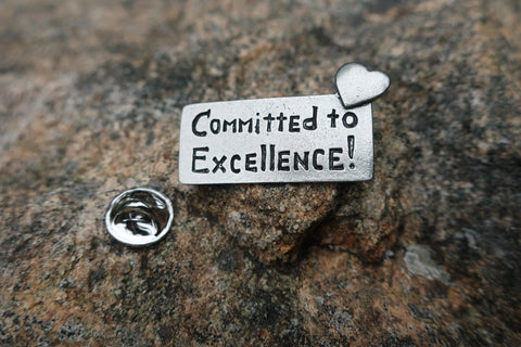 Committed to Excellence Lapel Pin