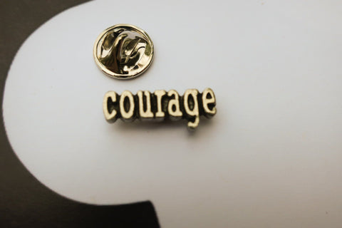 Courage Lapel Pin