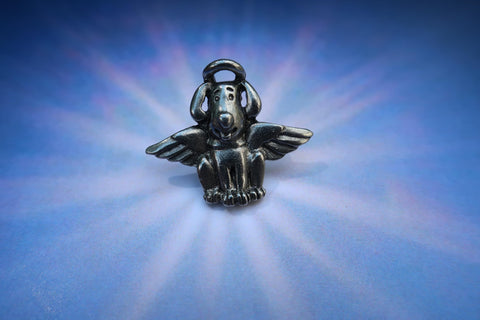 Dog Angel Lapel Pin