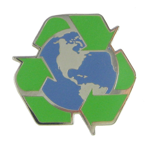 Recycle Earth Enamel Pin