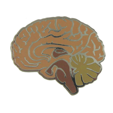 Brain Enamel Pin