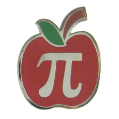 Apple Pi Enamel Pin