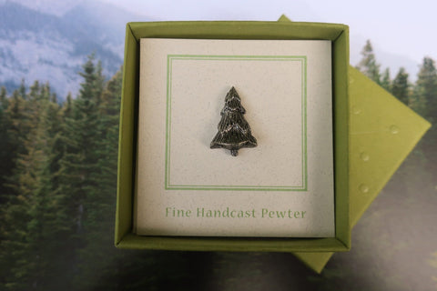 Evergreen Tree Lapel Pin