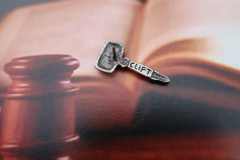 Gavel Lapel Pin