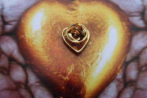 Heart of Gold Gold Lapel Pin