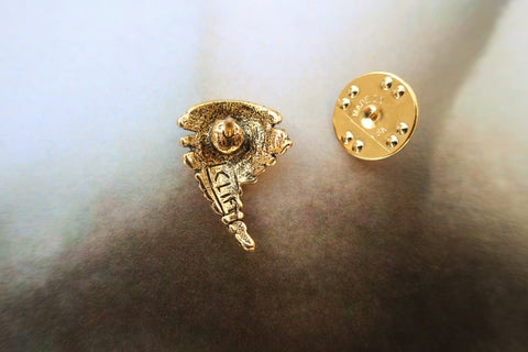 Tornado Gold Lapel Pin