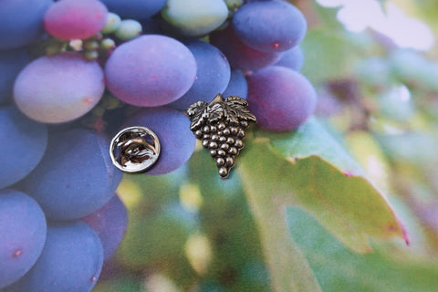 Grapes Lapel Pin