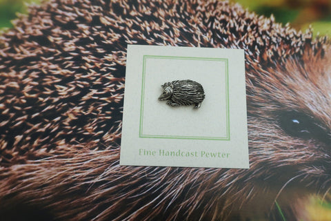 Hedgehog Lapel Pin