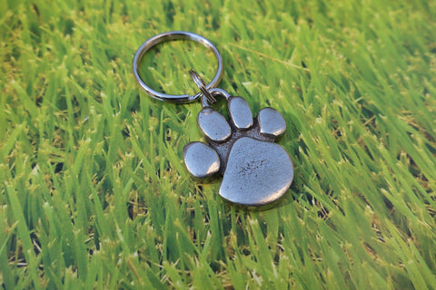 Pawprint Keyrings