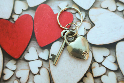 Key to My Heart Keyrings