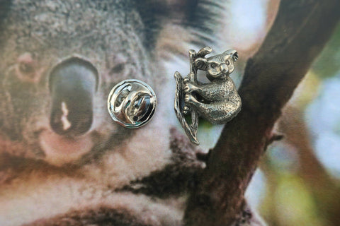Koala Bears Lapel Pin
