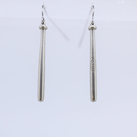 Baseball Bat Earrings