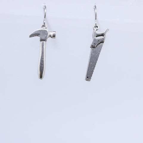 Hammer & Saw Earrings