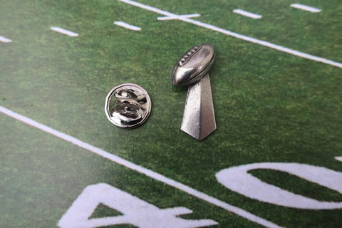 Football Trophy Lapel Pin