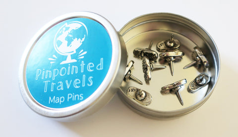 Hiking Boot Map Pins