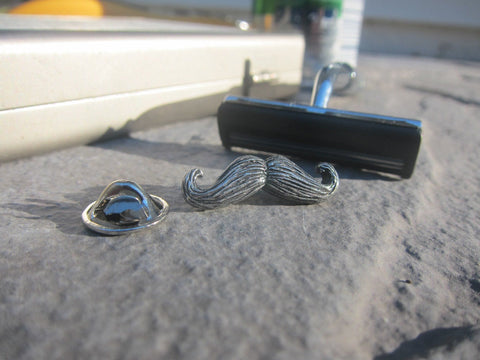 Moustache Lapel Pin